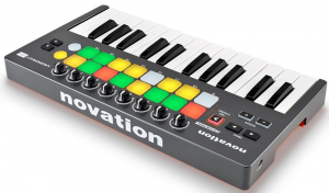 A solid mini compact MIDI keyboard