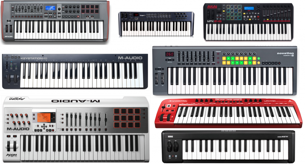 What are the top 10 best MIDI keyboard controllers?