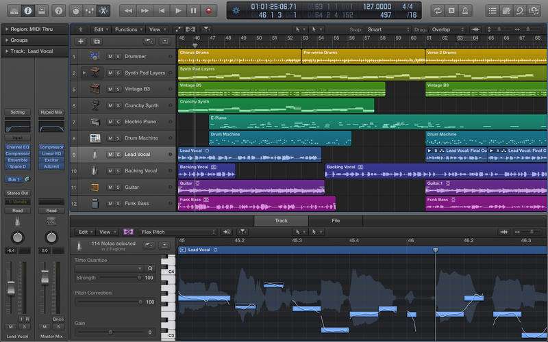 Another one of the best beginners music software for Mac