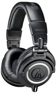 A solid pair of studio headphones by Audio-Technica