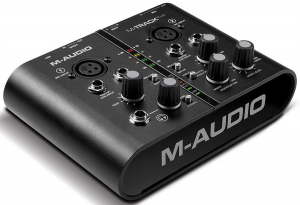 A solid interface by M-Audio