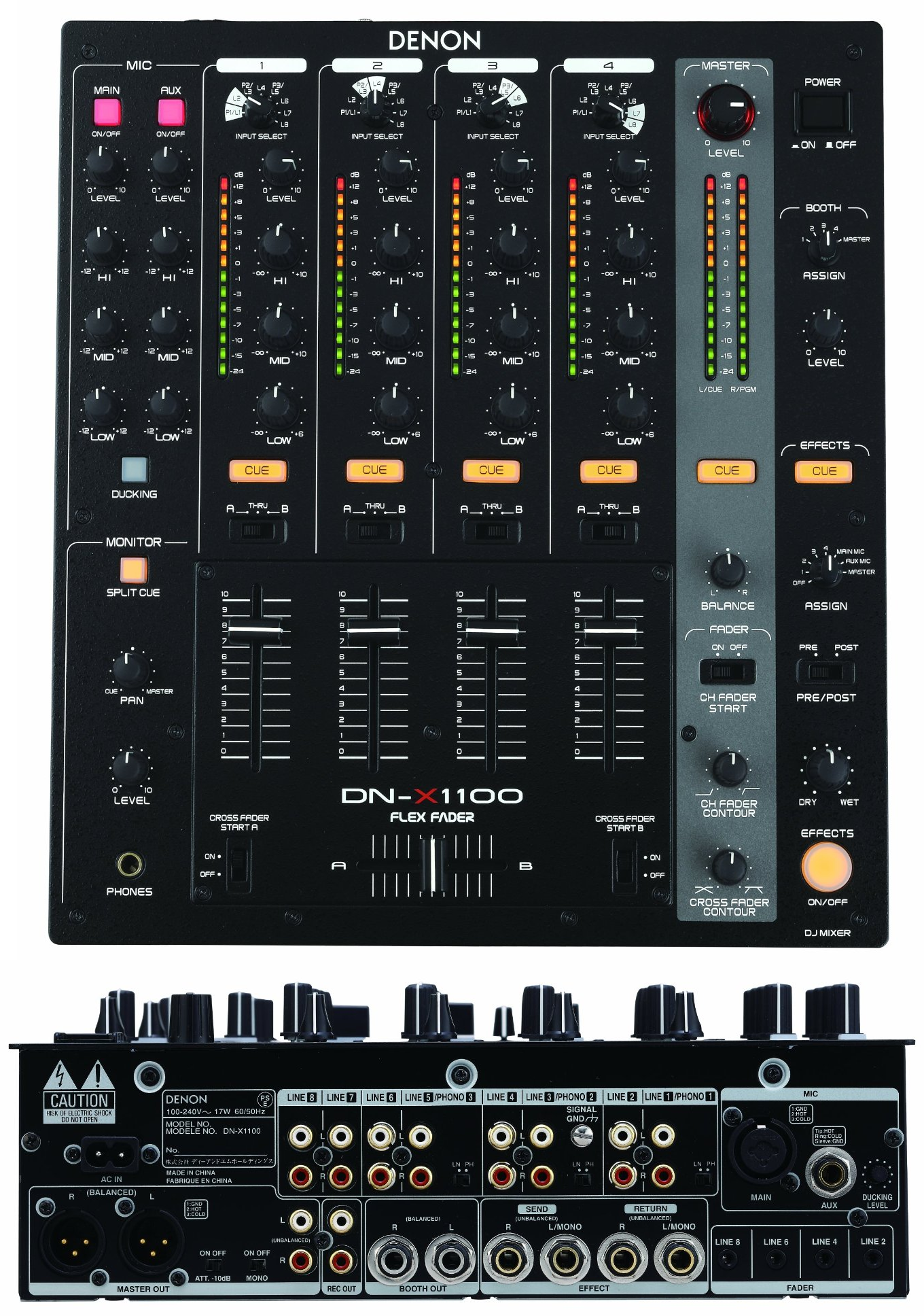 the top 10 best dj mixers on earth the wire realm. Black Bedroom Furniture Sets. Home Design Ideas