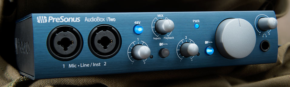 Our review of the AudioBox iTwo by PreSonus