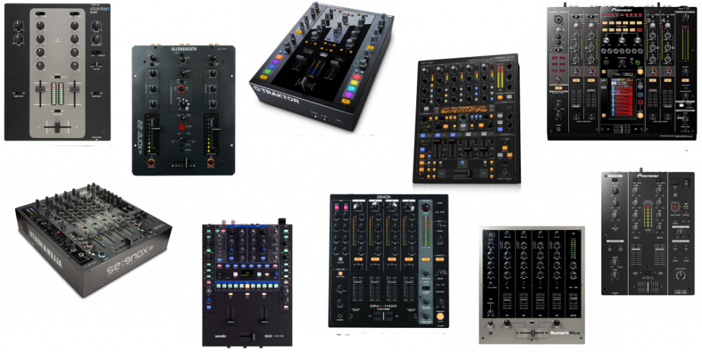 Top 10 best DJ mixers