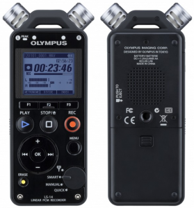 A solid choice for an audio recorder