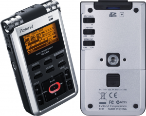 Roland's spin on a pocket recorder