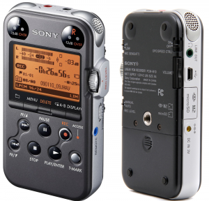 Sony's take on a portable recorder