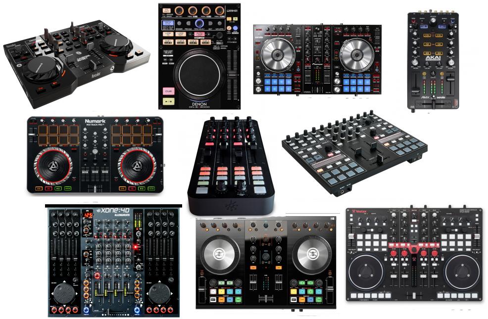 We review the 10 best DJ controllers