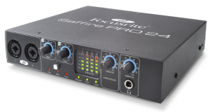 A step up audio interface for Logic Pro