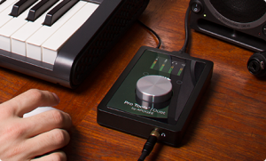 A solid, professional audio interface