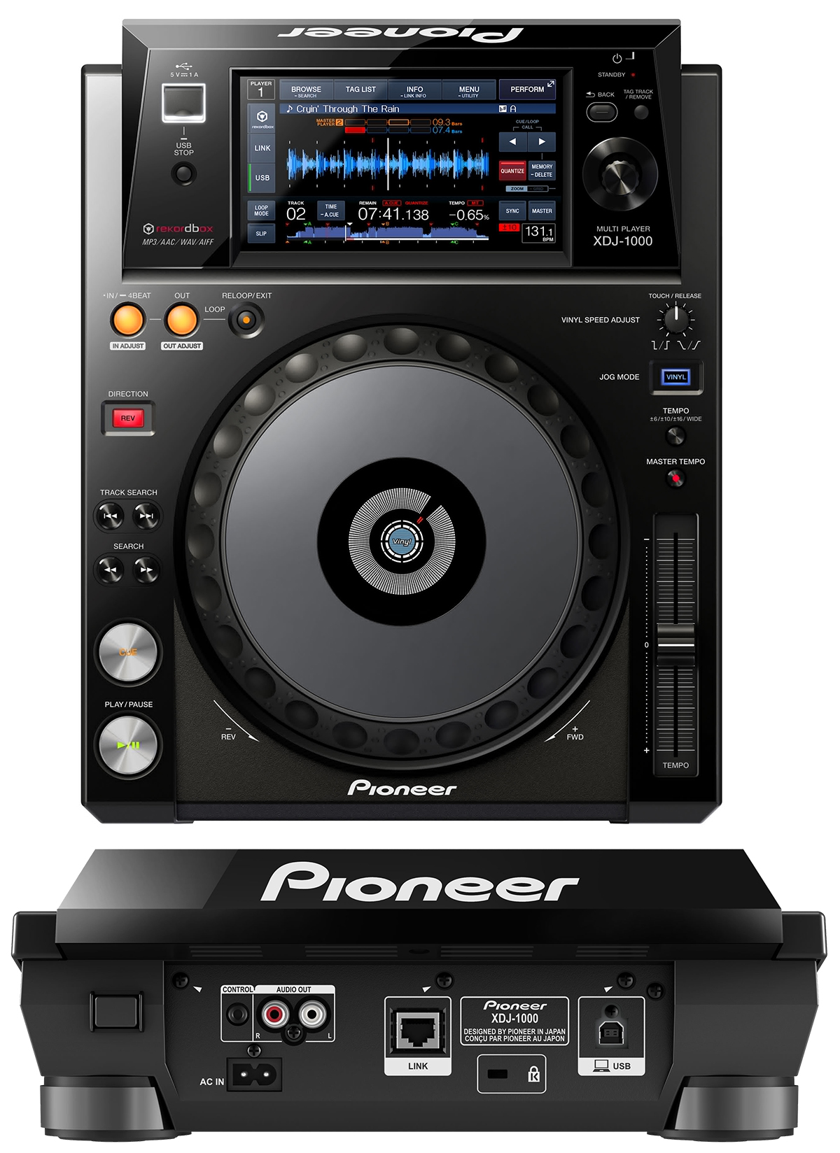 The Top 10 Best Dj Mixers On Earth Wire Realm Diagram Further Pioneer Speakers Wiring A Guitar Speaker Jack Xdj 1000 Turntable Deck Review