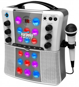 A fancy karaoke machine for kids