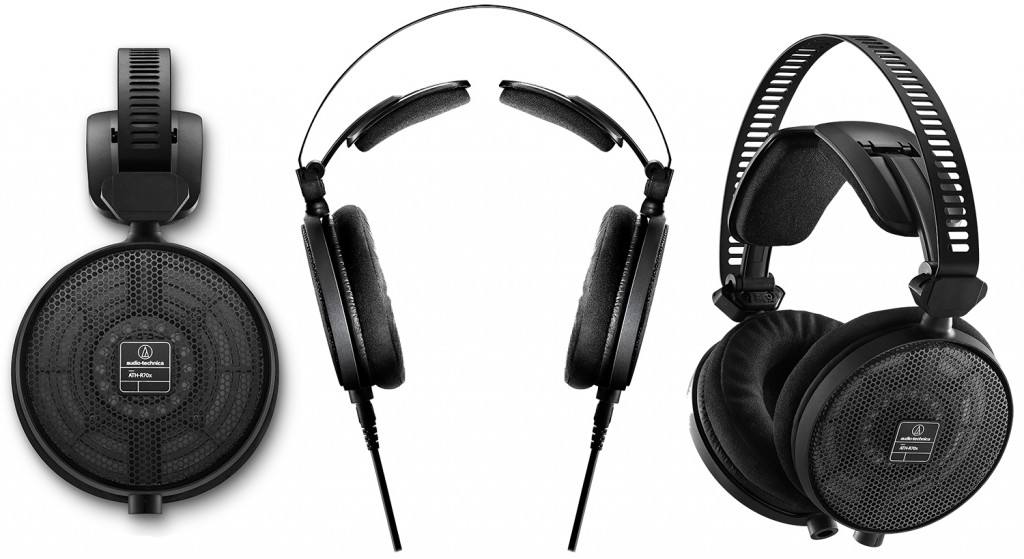 We review the brand new open-back reference headphones by Audio-Technica