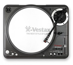 A nice quality DJ turntable
