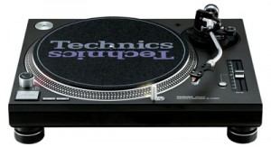 A classic turntable