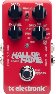 A great reverb guitar pedal