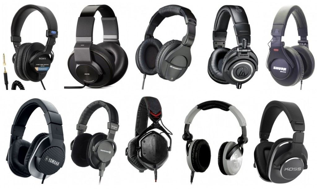 We review the top ten best studio headphones with closed-back designs
