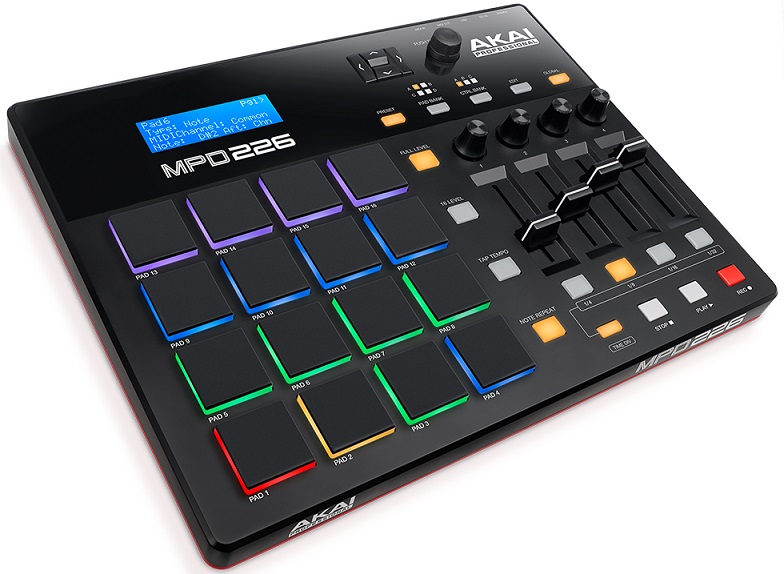 akai mpd226 midi pad controller review the wire realm. Black Bedroom Furniture Sets. Home Design Ideas