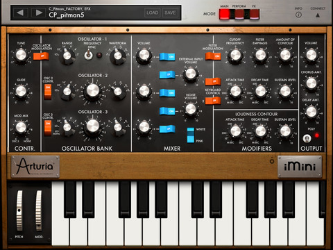 A sweet synth app