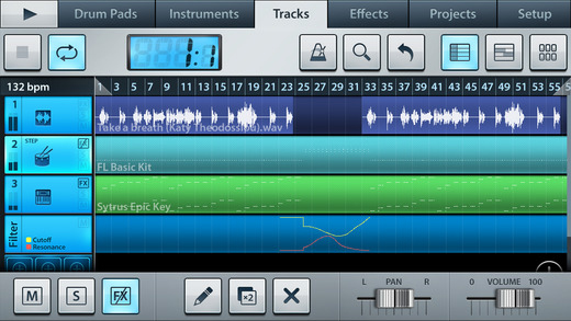 One of the most popular DAW apps in the market