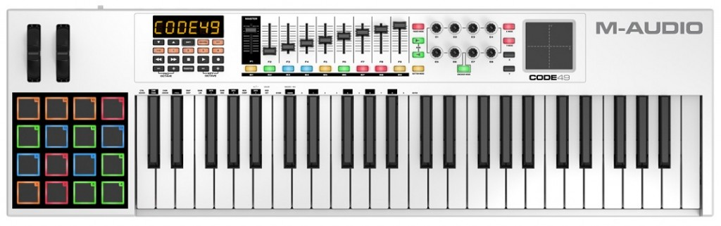 m audio code 49 midi keyboard controller review the wire