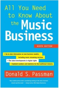 A book we recommend for those who are serious about a career in music