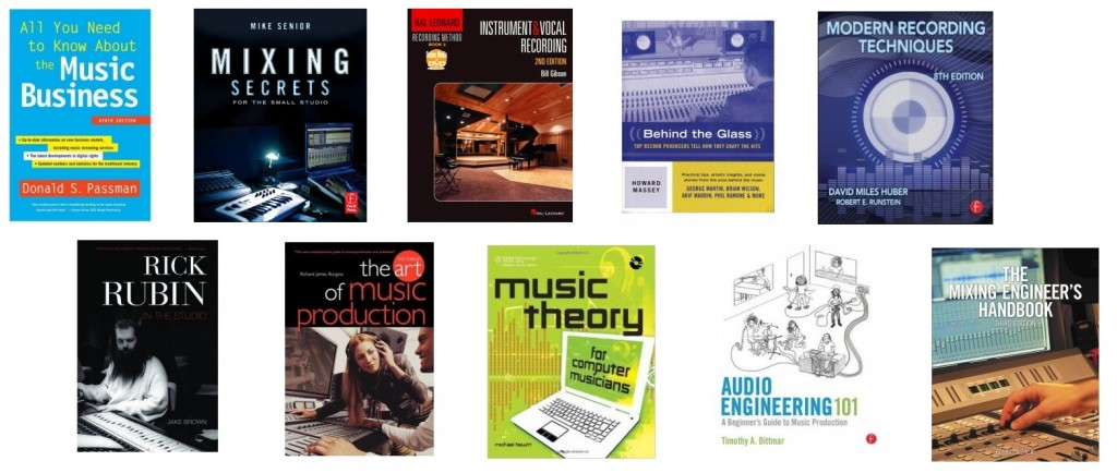 We review the best books for music making, production and mixing