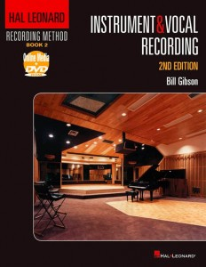 A great book for those into recording instruments