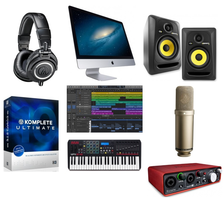 The best recording gear and music equipment for home studios