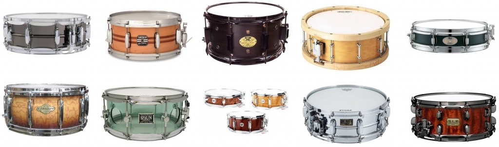 We review the ten best snare drums in the market