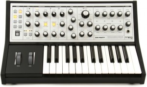 We love this Moog synths power