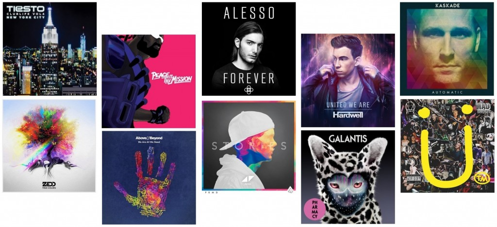 We review the ten best electronic dance music albums of 2015