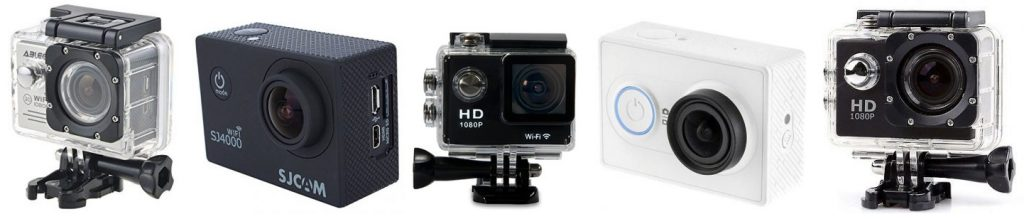 We review the best POV action cams under 100 dollars
