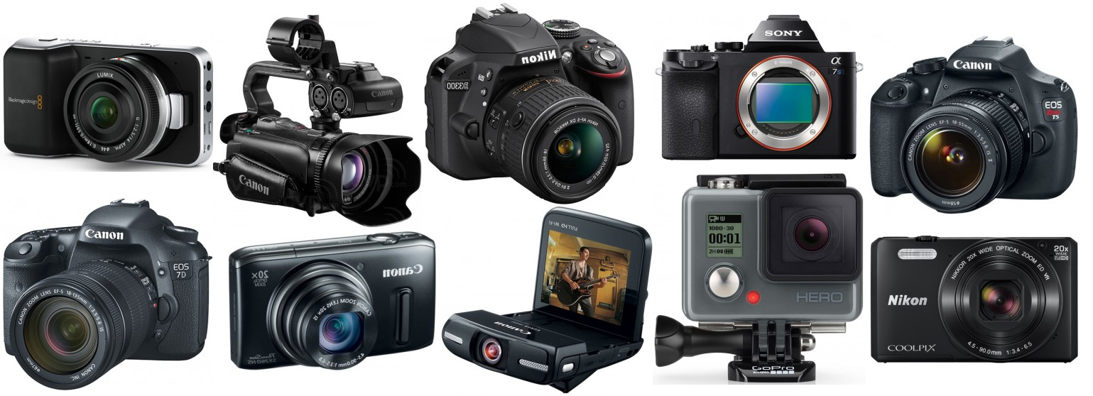 top 10 best video cameras for filming youtube videos the