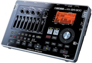 A very solid multitrack recorder by Boss