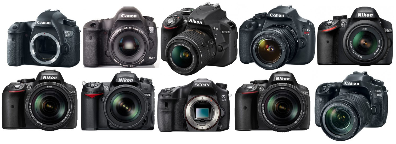The Top 10 Best DSLR Cameras for Filming Videos - The Wire Realm