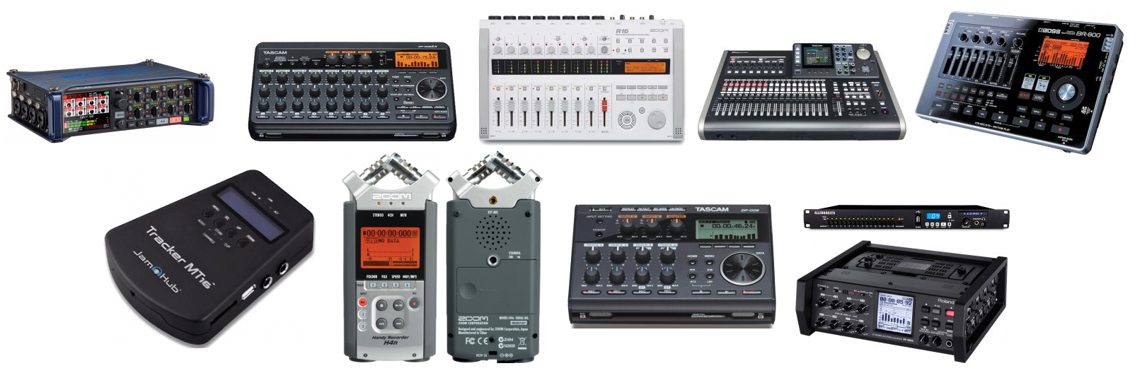 The Top 10 Best Multitrack Recorders on the Planet - The