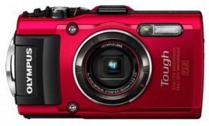 A solid point and shoot waterproof camera for filming sports