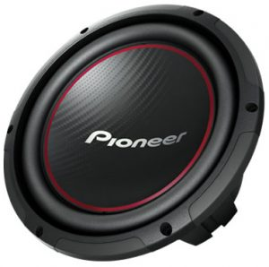 A solid subwoofer for your car by Pioneer