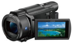Camcorders bring us the stereotypical video camera type for versatility