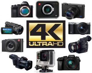 We review the best video cameras that film in 4K recording quality