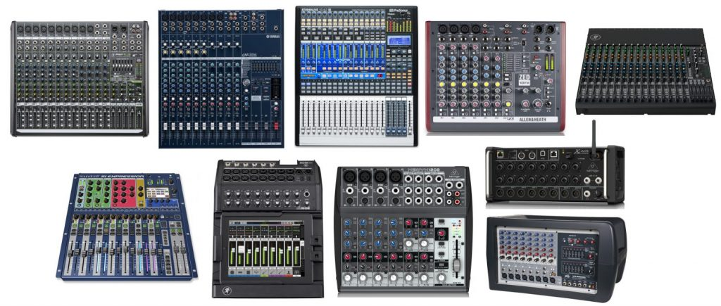 We review the best audio mixers, whether for the studio or live performances