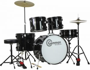 A less known but positively rated drum set
