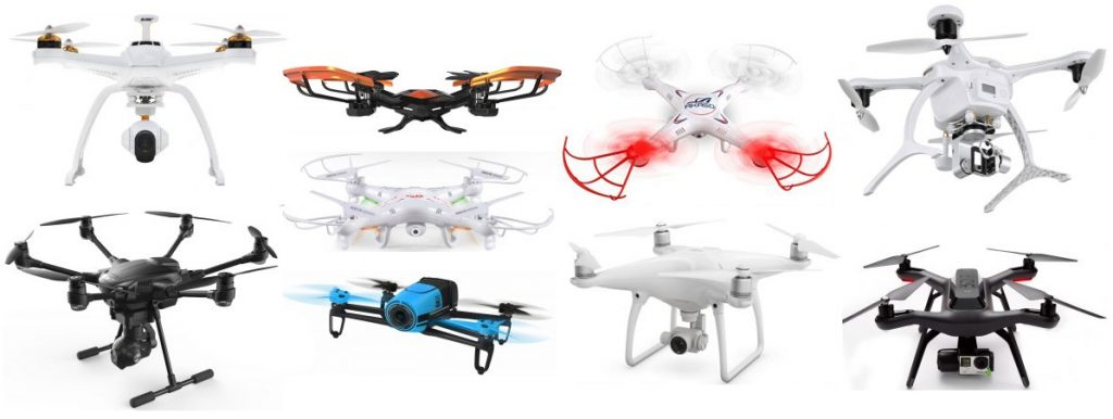 We review the best drones with a camera attached