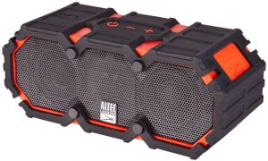 A very rugged and sturdy waterproof speaker