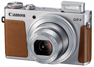 A beautiful point-and-shoot digital camera