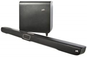 A very high-quality soundbar by Polk Audio