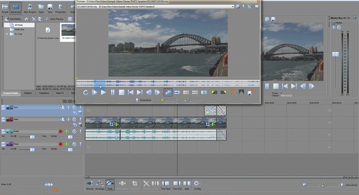 sony video editing software free download full version 32 bit