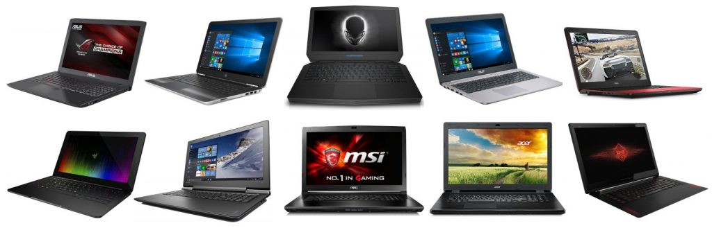 Review of the best gaming laptops under $1,000 dollars