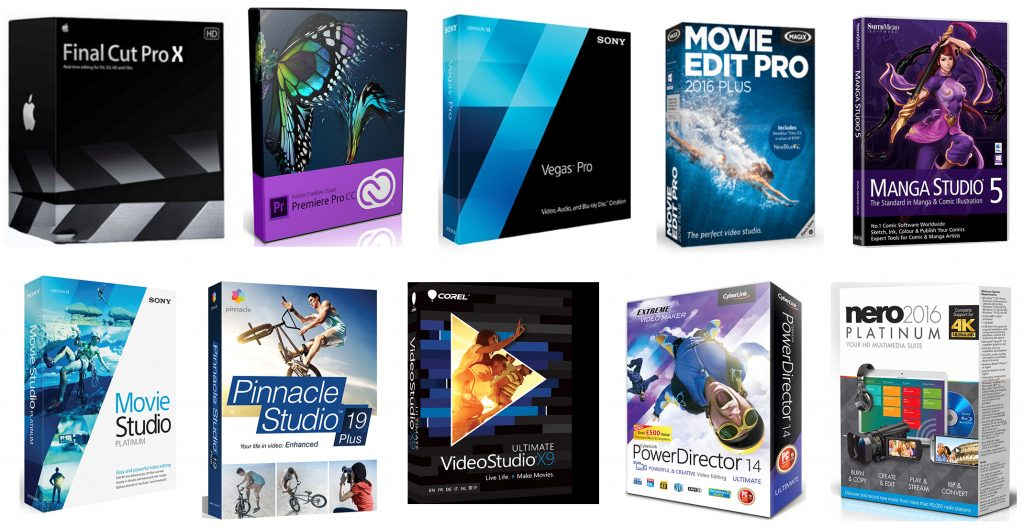 We review the very best video editing software for filmmaking, clips, skits and other production
